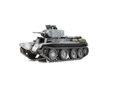 Czołg Lekki BT7/1 zima gotowy model H0 Artitec