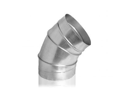 Koleno pre vetranie spiro termoflex 45st. 250 mm