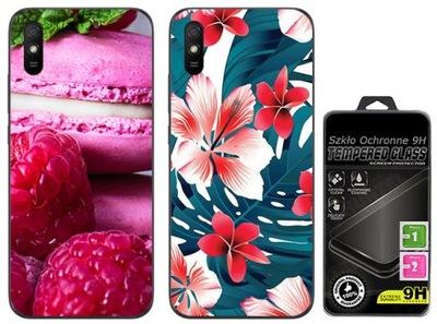 2x Etui Cienka Guma FOTO do Xiaomi Redmi 9A