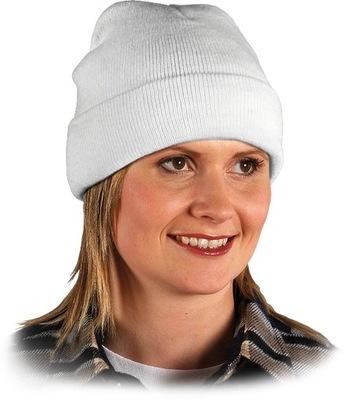 Czapka zimowa jesienna męska damska robocza ciepła