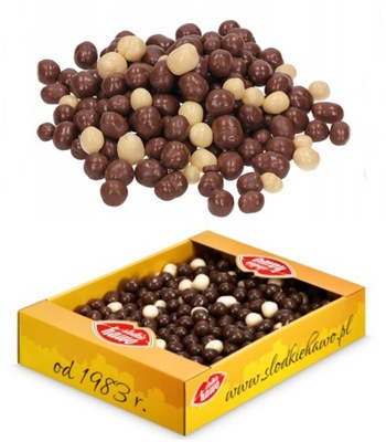 Хрустящие в молочном шоколаде HAWO шарики 1кг