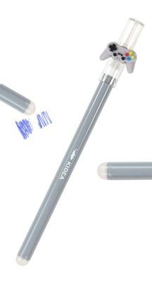 Długopis wymazywalny niebieski GAME PLAYER