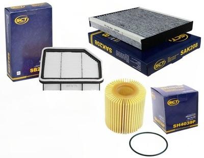 Набор фильтров Lexsus IS250 ISC250 2005-2012