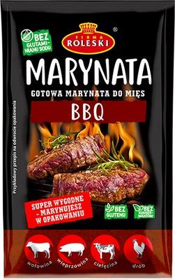 Roleski do grilla, mięs Marynata BBQ gotowa 200 g