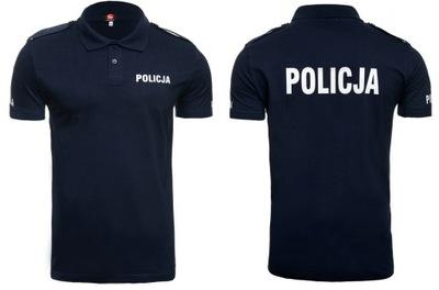 футболки Полицейская Поло ПОЛИЦИЯ погоны гранат _ L