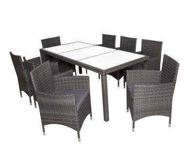 Мебель садовое 8 человек комплект стулья + стол