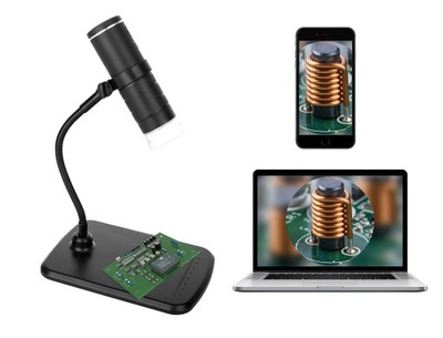 Mikroskop bezprzewodowy Media-Tech