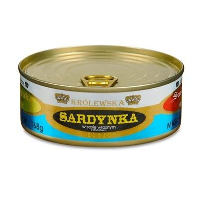 Королевская Сардина в собственном соусе с добавкой оле