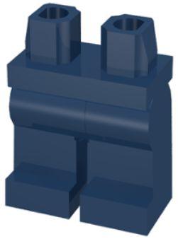 LEGO NÓŻKI NOGI DO FIGURKI GRANATOWE NR. 970c00