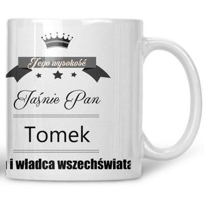 Kubek Jaśnie Pan Tomek