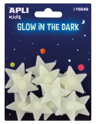 МАЛЕНЬКИЕ звезды наклейки флуоресцентного ФОНА KIDS