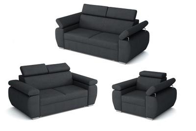 комплект уголок БОСТОН 3 +2 +1 диваны и Кресло