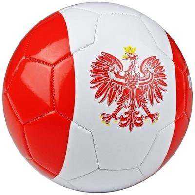 Piłka nożna JET-5 Polska piłka kibica do nogi R 5