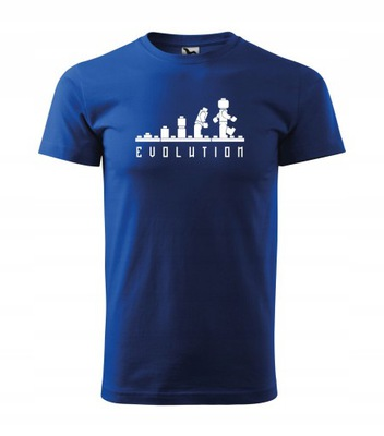 Koszulka T-shirt Ewolucja LEGO Evolution męska