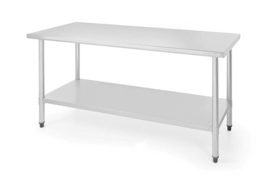 Stół roboczy ze stali nierdzewnej 1600x600x(H)850