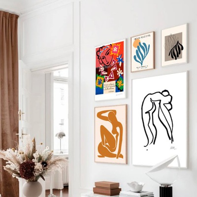 Grafiki Henri Matisse Wielka Kolekcja Stylowe A4