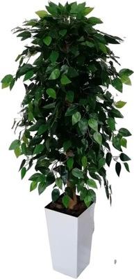 Drzewko sztuczne Fikus Benjamina 135 cm kwiat