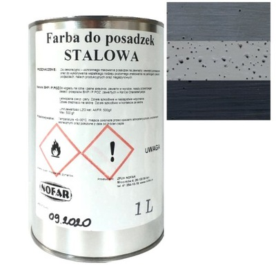Farba Do Posadzek Garażu Betonu Nofar 1L