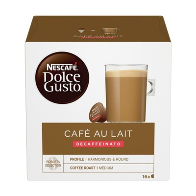 Dolce Gusto Cafe Au Lait Decafeinato 16 штук