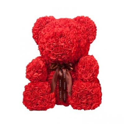 БОЛЬШОЙ МИШКА РОЗОВЫЙ ROSE BEAR подарок премиум