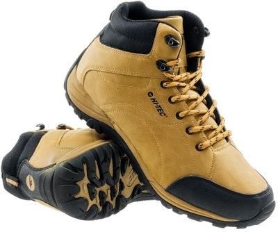 męskie buty trekkingowe hi-tec caroni mid