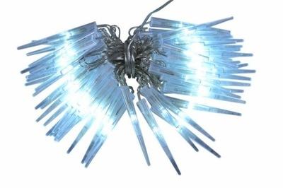 SOPLE 60 LED ZIMNE BIAŁE LAMPKI ZEWNĘTRZNE