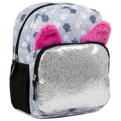 plecak przedszkolaka mały BACK UP KOTKI 3580