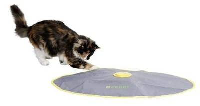 Zabawka interaktywna kota gra piórka wędka Kerbl