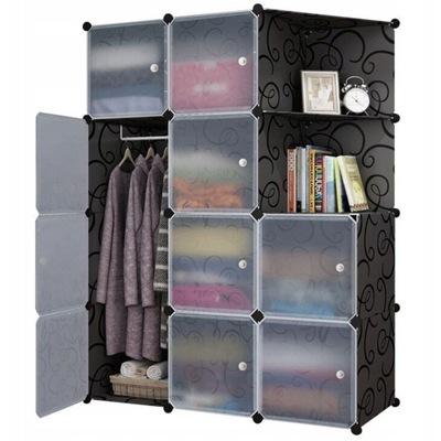 шкаф МОДУЛЬНАЯ СТЕЛЛАЖ 12 ПОЛКАМИ ГАРДЕРОБ шкаф ??? одежды