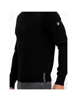 EMPORIO ARMANI EA7 markowy męski sweter BLACK XL