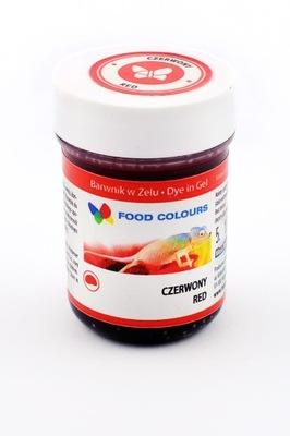 Краситель пищевой в желе красный 35g