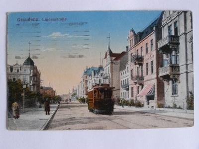Grudziądz Graudenz tramwaj Legionów 1917
