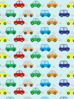 Dyha 150 cm 200 cm 2 prvky Farebná digitálna tlač automobilov