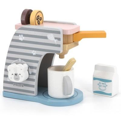 Viga Toys PolarB Drewniany Ekspres do kawy
