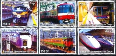 Т. 0905 Марки Серия железнодорожный транспорт поезда II