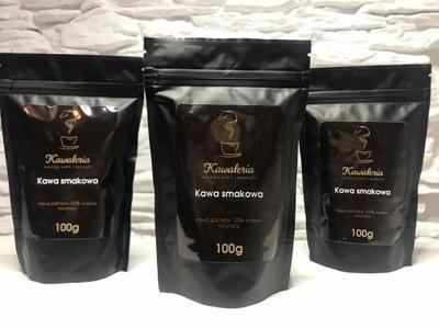 Zestaw kaw ziarnistych smakowych 3x100 g PROMOCJA!