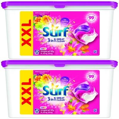 Surf Color Tropical Lily Kapsułki 2 x 50 = 100szt