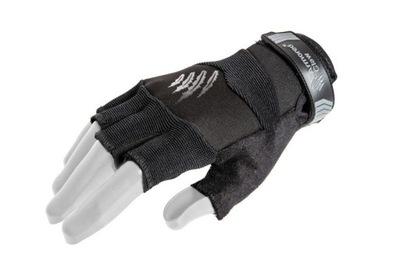 Rękawice taktyczne Armored Cut Czarne bez palców L