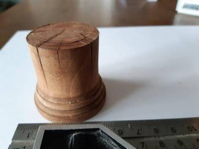 Drewniana podstawka/baza pod model/modelarstwo