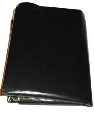 wielkie worki foliowe czarne 400L grube 130 x 200