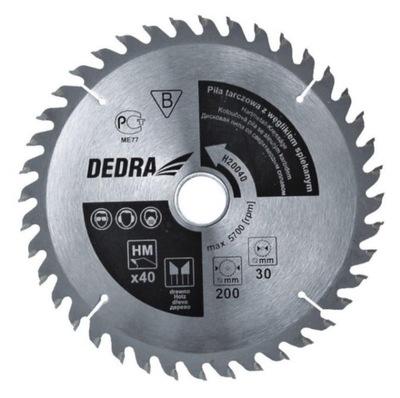 DEDRA H25040 Piła tarczowa 250x40x30