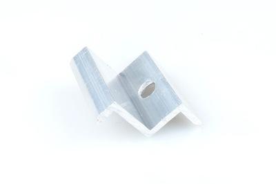 Klema końcowa mocowanie paneli PV Z35 L=40mm ALU