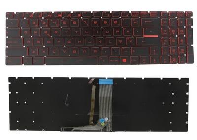 klawiatura MSI GL62 GL63 GL72 GL73 GV62 LED RED