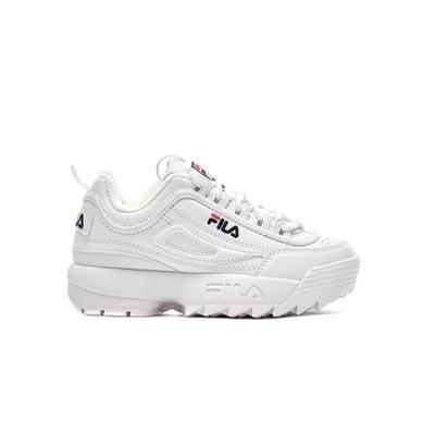 Buty Białe Fila Disruptor Kids 1010567-1FG