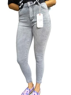 Damskie Spodnie jeansowe Push Up Modelujące HIT !
