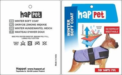 Kurtka dla psa Happet 311A brąz XS-25cm