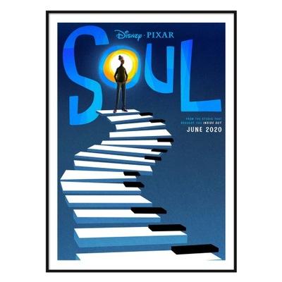 Plakat Soul Co w duszy gra Pixar