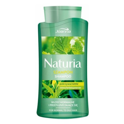 Joanna Naturia Szampon pokrzywa i zielona herbata
