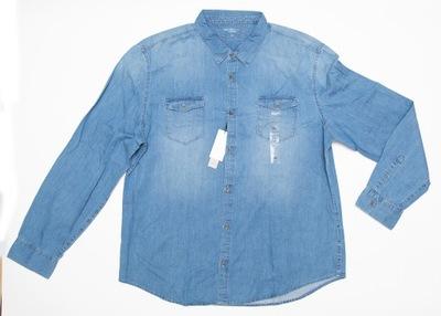 Calvin KLEIN JEANS koszula jeansowa rozm. XXL