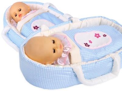 batoh pet nosič pre bábiky až do 45 cm niesť BOBO bielizeň